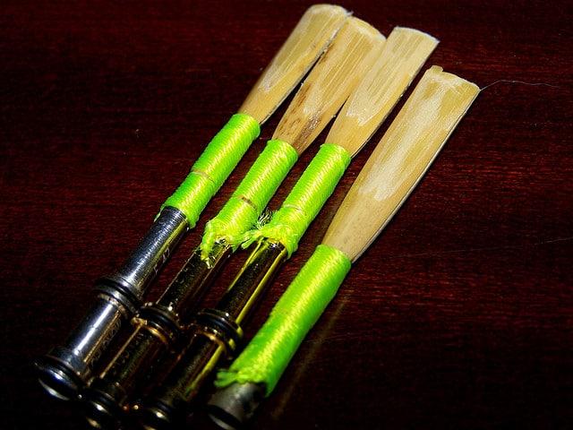 4 oboe reeds