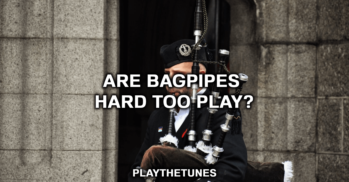 learning to play bagpipes