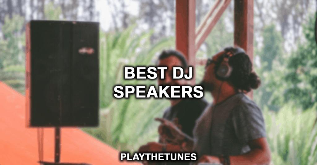 dj monitors speakers