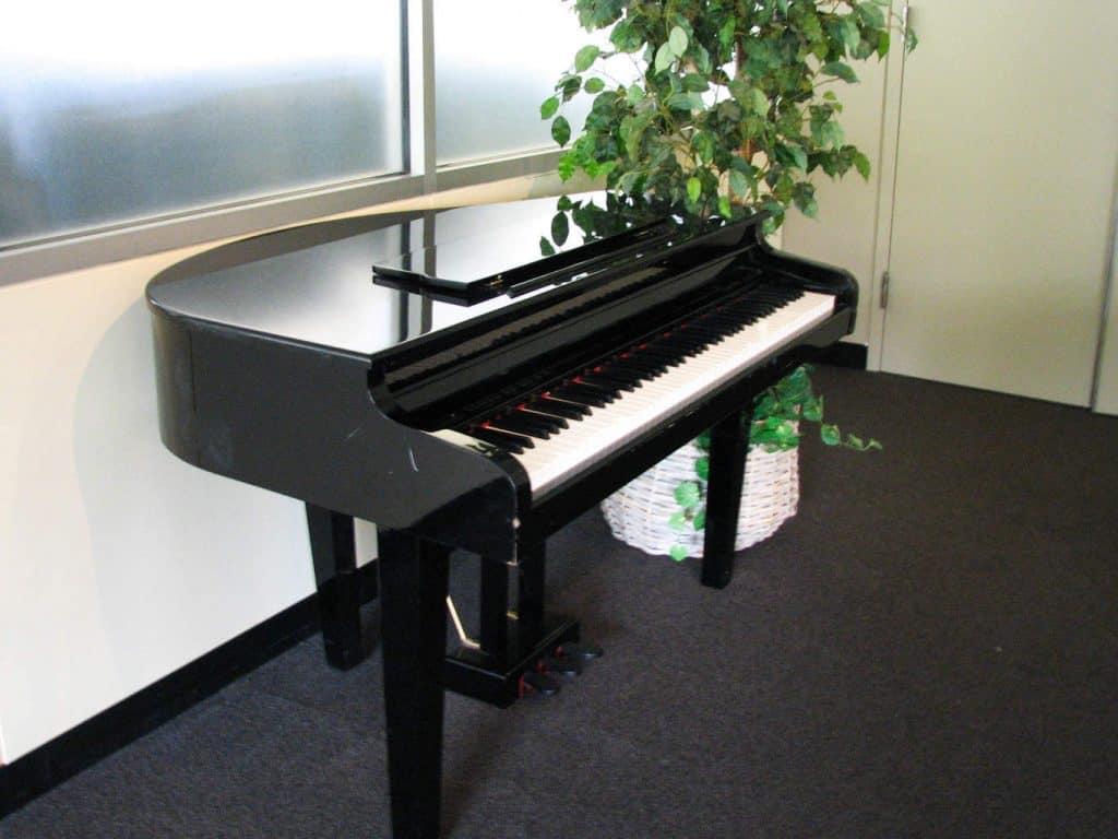 small baby grand piano