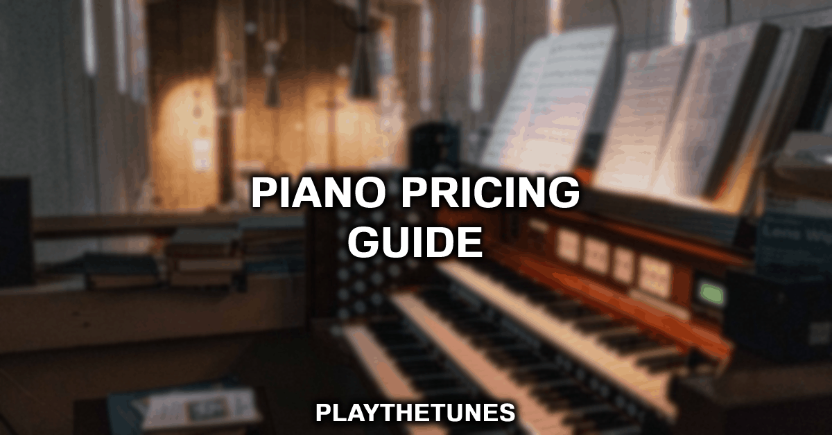 how much are piano