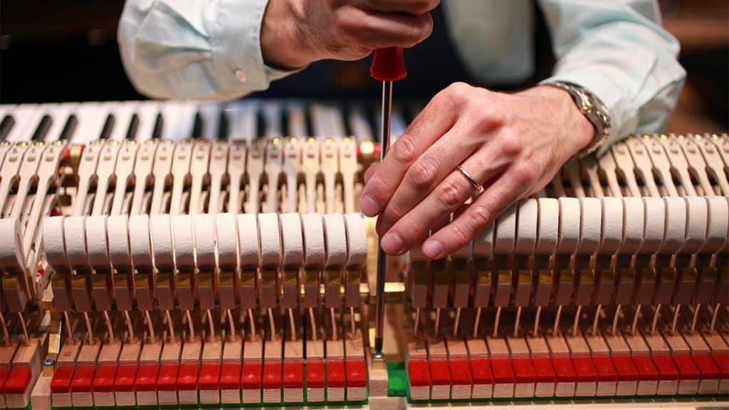 piano tuning keys