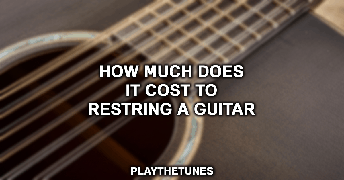 how much to restring a guitar