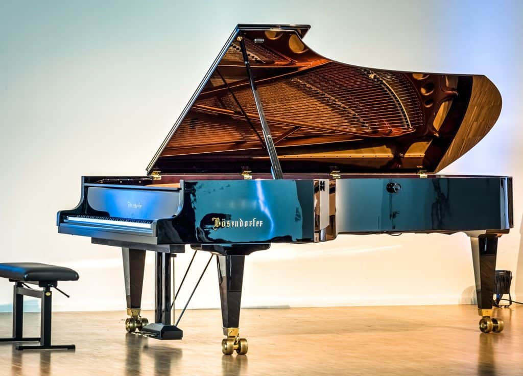 Bösendorfer Imperial grand piano in the Music Hall