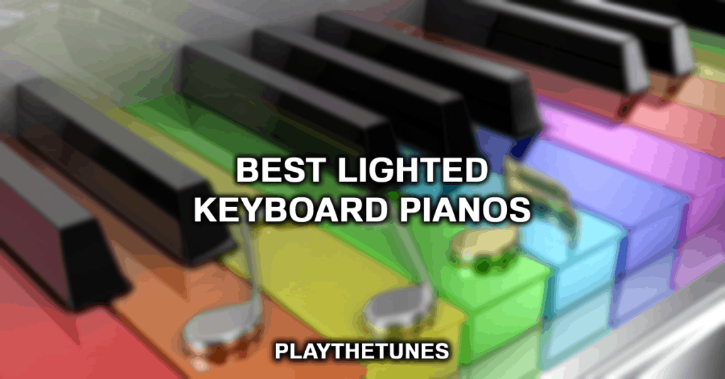 best lighted keyboard pianos