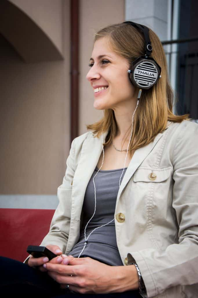 If you're going to use it in a quiet environment, an open back headset is excellent.