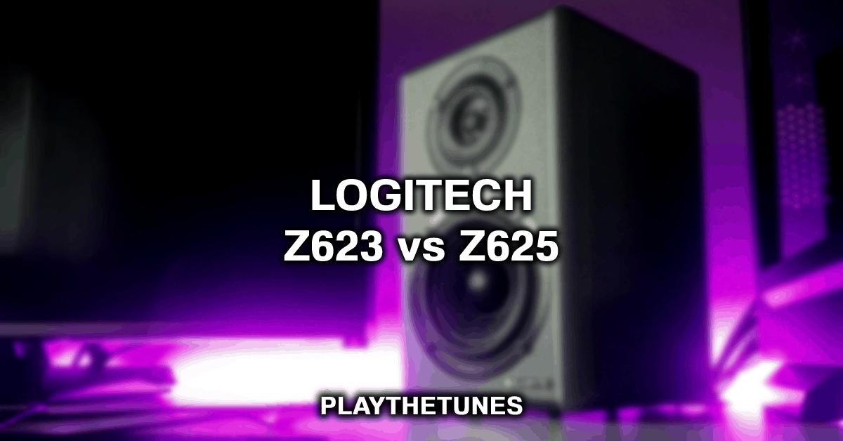Logitech Z623 vs Z625