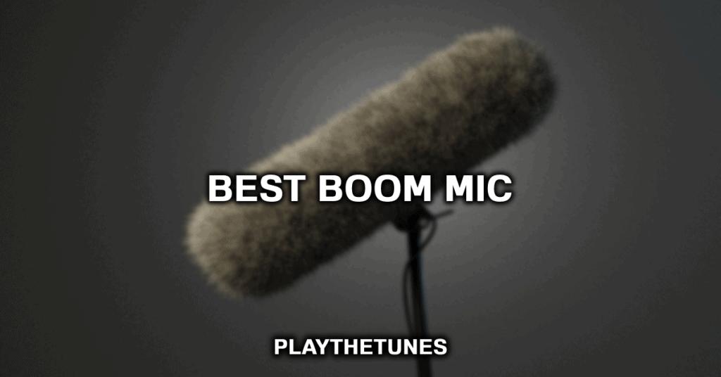 best boom mic